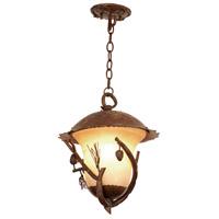 Kalco 9168PD Ponderosa Outdoor 3 Light 14 inch Ponderosa Hanging Lantern Ceiling Light