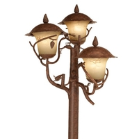 Kalco Lighting Ponderosa 9 Light Outdoor Lantern Head in Ponderosa 9173PD