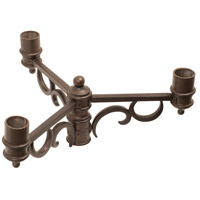 Kalco 9308BB Signature 11 inch Burnished Bronze Post Mount