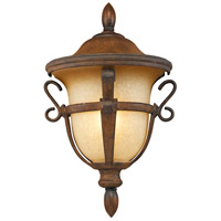 Tudor 1 Light 13 inch Walnut Outdoor Porch Light