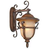Tudor 4 Light 27 inch Walnut Outdoor Wall Bracket