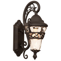 Anastasia 1 Light 17 inch Textured Matte Black Outdoor Wall Bracket