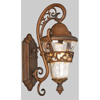Kalco Anastasia 1 Light Outdoor Wall Bracket in Walnut 9411WT