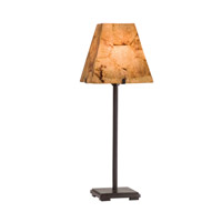 Kalco Madera 1 Light Table Lamp in Bronze 947BZ