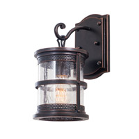 Kalco Hemlock 1 Light Wall Bracket in Antique Copper 9562AC
