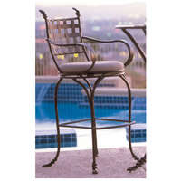 Vine Bark Swivel Bar Stool Home Decor, With Armrest