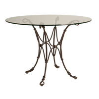 Kalco Lighting Vine Dining Table in Bark F300BA