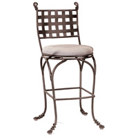 Vine 46 inch Bark Swivel Bar Stool, Without Armrest