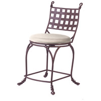 Kalco Lighting Vine Counter Height Stool in Bark F650BA