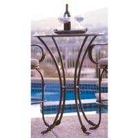 Vine Bark Bar Table Home Decor