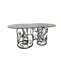Kalco Lighting Windsor Table in Antique Copper F780AC