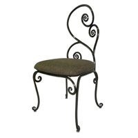 Windsor Antique Copper Chair Home Decor, Without Armrest