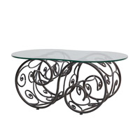 Kalco Lighting Windsor Table in Antique Copper F783AC