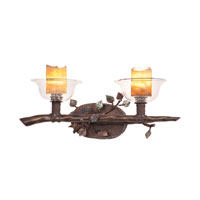 Kalco Cottonwood 2 Light Bath Light in Sienna Bronze 2512SB