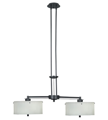 Kenroy Lighting Sanctuary Graphite Finish Island Lighting 04590 photo