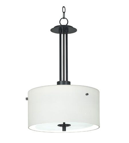 Kenroy Lighting 04592 Sanctuary 1 Light Graphite Finish Pendant Ceiling Light photo