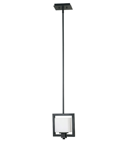 Kenroy Lighting Orion 1 Light Mini Pendant in Bronzed Graphite   10140BRZG photo