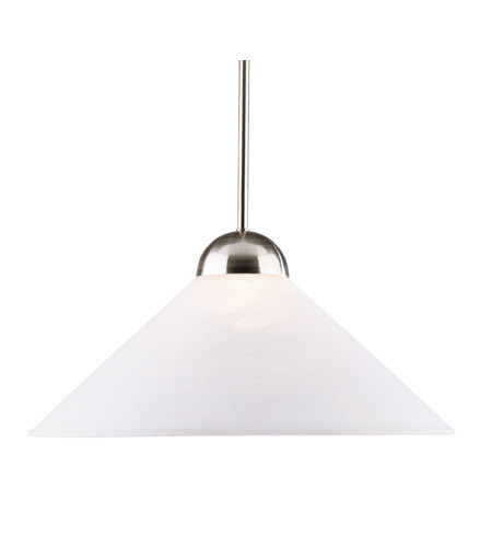 Kenroy Lighting Madison 1 Light Pendant in Brushed Steel   11630BS photo