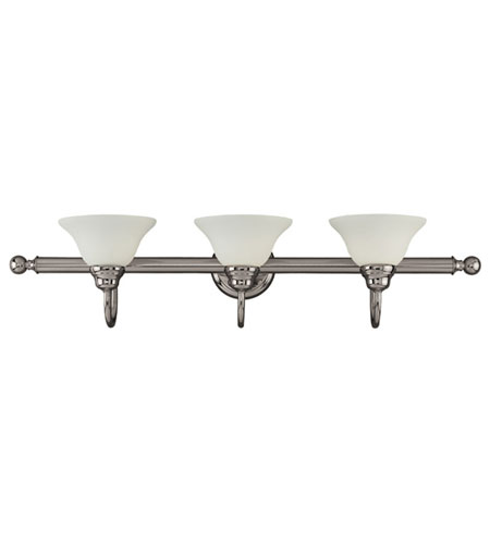 Kenroy Lighting Abbey Antique Nickel Finish Bathroom Lights 11853ANI photo