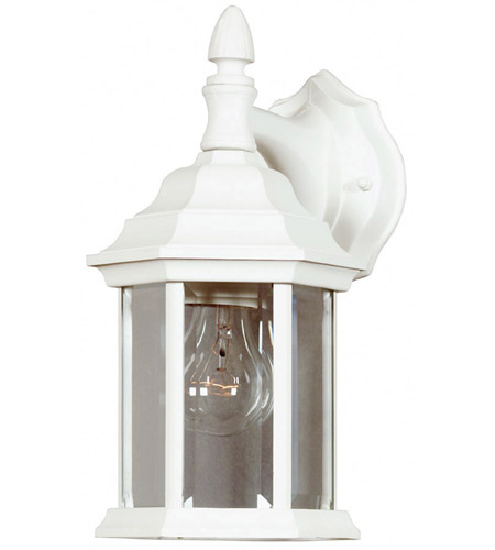 Kenroy Lighting Custom Fit 1 Light Outdoor Wall Lantern in White   16266WH photo