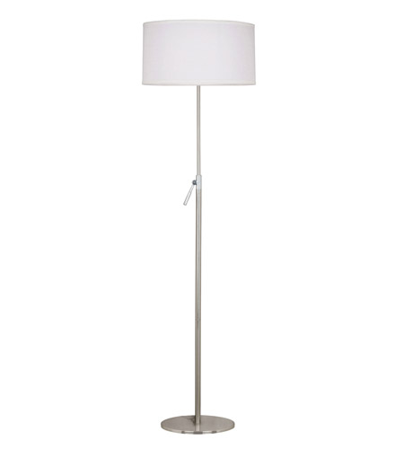 Kenroy Lighting 20111BS Propel 68 inch 150 watt Brushed Steel Floor Lamp Portable Light, Adjustable photo