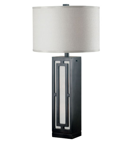 Kenroy Lighting Latcher 1 Light Table Lamp in Oil Rubbed Bronze   20692ORB photo