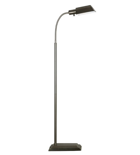 Kenroy Lighting Steward 1 Light Floor Lamp in Vintage Brass   20967VB photo