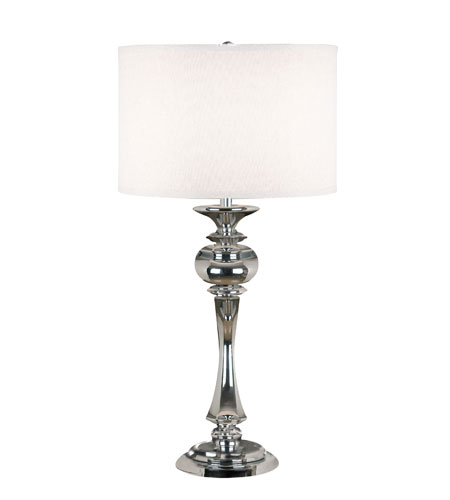 Kenroy Lighting Bishop 1 Light Table Lamp in Chrome   21060CH photo