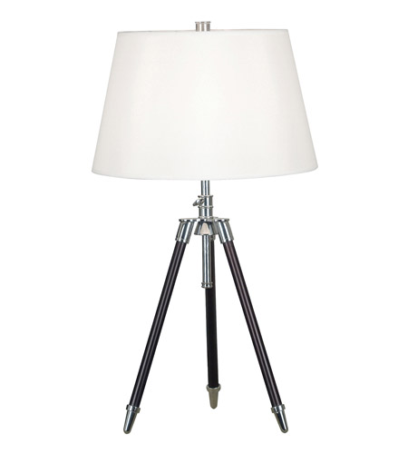 Kenroy Lighting Surveyor 1 Light Table Lamp in Oil Rubbed Bronze  with Chrome Accents  21520ORB photo