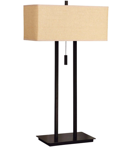 Kenroy Lighting Emilio 2 Light Table Lamp in Bronze   30816BRZ photo