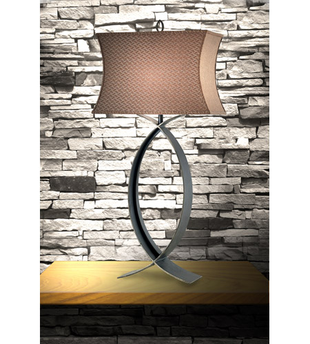 Kenroy Lighting Pisces 1 Light Table Lamp in Oxidized Bronze   30960OBZ photo