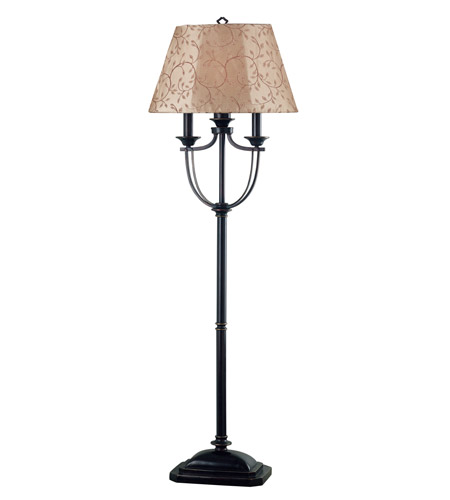 Kenroy Lighting 31366ORB Belmont 58 inch 100 watt Oil Rubbed Bronze Outdoor Floor Lamp photo
