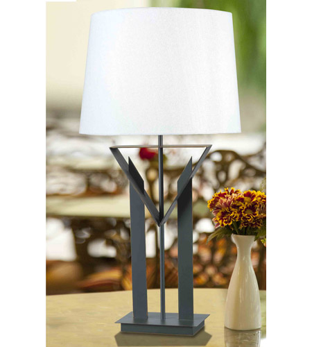Kenroy Lighting Montrose 1 Light Table Lamp in Bronze   32071BRZ photo