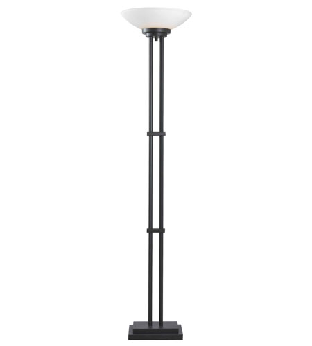 Kenroy Lighting Halstead 1 Light Torchiere in Oil Rubbed Bronze   32122ORB photo