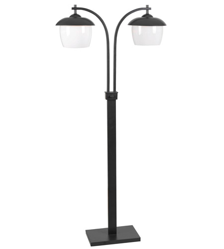 Kenroy Lighting Lika 2 Light Outdoor Floor Lamp in Oil Rubbed Bronze   32141ORB photo