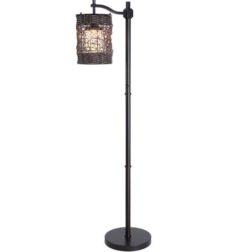 Kenroy Lighting Brent 1 Light Outdoor Floor Lamp in Oil Rubbed Bronze   32144ORB photo