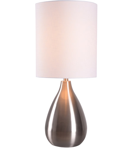 Kenroy lighting 32156bs droplet 29 inch 150 watt brushed steel table kenroy lighting 32156bs droplet 29 inch 150 watt brushed steel table lamp portable light aloadofball Image collections