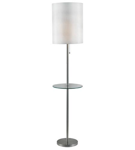 Kenroy lighting 32171bs exhibit 65 inch 150 watt brushed for 150 watt floor lamp