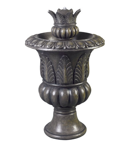 Kenroy Lighting Tuscan Urn 2 Light Urn Fountain in Bronze Patina   53260BP photo