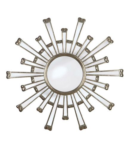 Kenroy Lighting 60009 Cameron 36 X 36 inch Silver Wall Mirror Home Decor photo