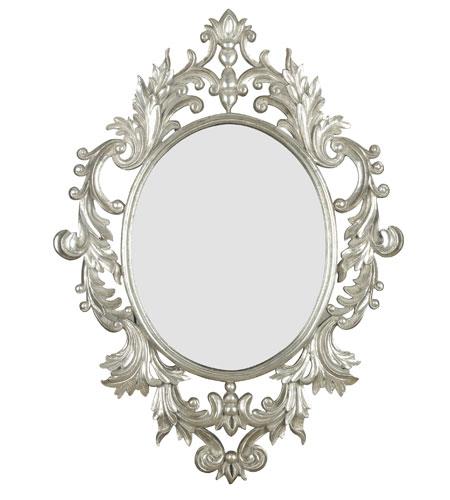 Kenroy Lighting Louis Wall Mirror in Silver Leaf   60010 photo