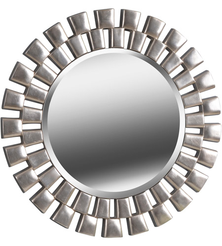Kenroy Lighting 60019 Gilbert 36 X 36 inch Silver Wall Mirror photo