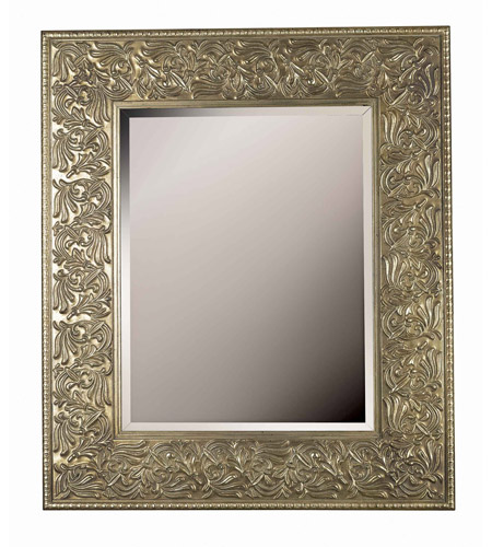 Kenroy Lighting Lafayette Wall Mirror in Gilded Antique Silver   60035 photo