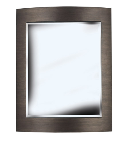 Kenroy Lighting Folsom Wall Mirror in Brushed Bronze   60037 photo