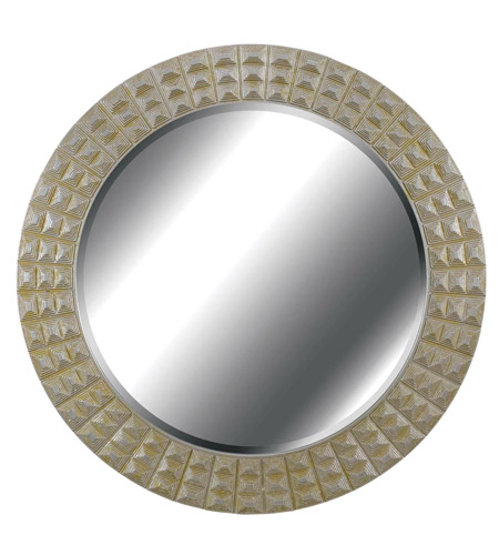Kenroy Lighting Bezel Wall Mirror in Silver/Gold Gilt   60092 photo
