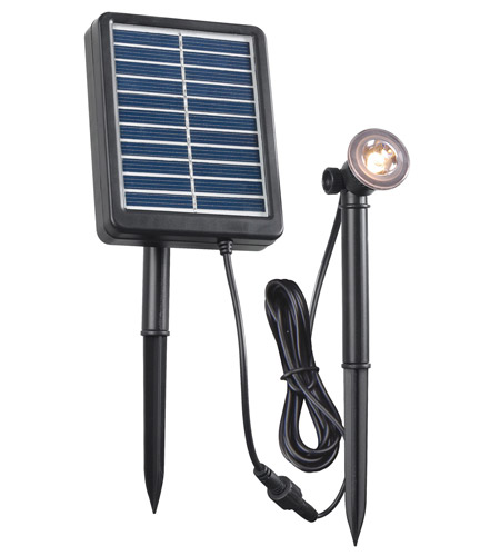 Kenroy Lighting 60500 Signature 0.5 watt LED Spotlight, Solar photo