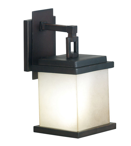 Kenroy Lighting Plateau 1 Light Outdoor Lantern in Oil Rubbed Bronze   70211ORB photo