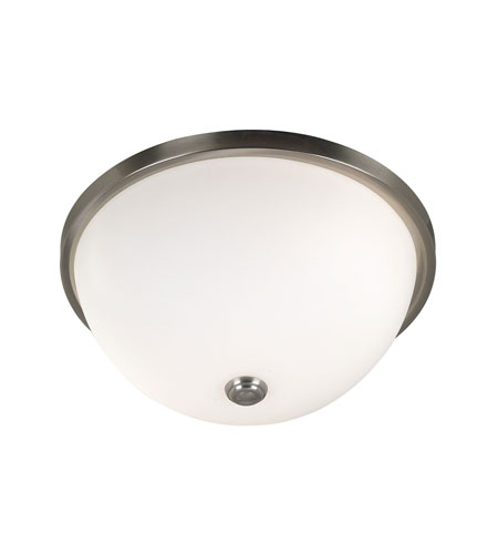 Kenroy Lighting Venue Brushed Steel Finish Flush Mount 80394BS photo