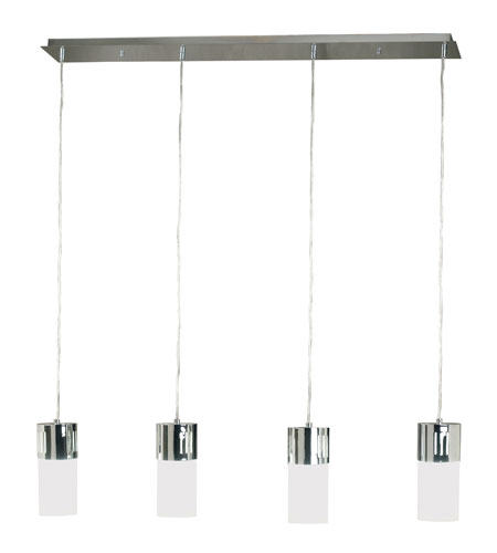 Kenroy Lighting Cylinder Chrome Finish Island Lighting 80504CH photo
