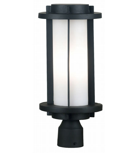 Kenroy Lighting Lumi 2 Light Outdoor Post Lantern in Espresso Bronze   80573EBZ photo